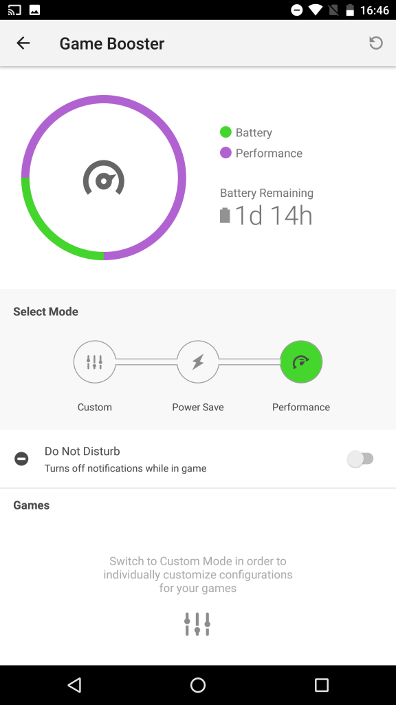Game Booster Performance